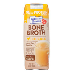 KITCHEN BASICS CHICKEN BONE BROTH 8.25 OZ