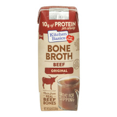 KITCHEN BASICS BEEF BONE BROTH 8.25 OZ CARTON