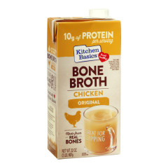 KITCHEN BASICS CHICKEN BONE BROTH 32 OZ CARTON