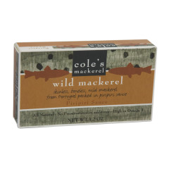 COLE'S WILD MACKEREL IN PIRIPIRI SAUCE 3.2 OZ BOX