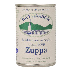 BAR HARBOR MEDITERRANEAN CLAM CHOWDER SOUP 15 OZ CAN