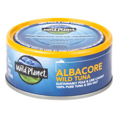 WILD PLANET ALBACORE WILD TUNA 5 OZ CAN