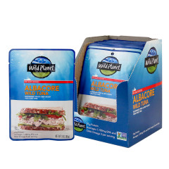 WILD PLANET NO SALT ADDED WILD ALBACORE TUNA 3 OZ POUCH
