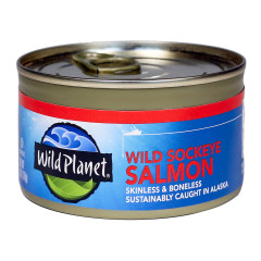 WILD PLANET WILD SOCKEYE SALMON 6 OZ CAN