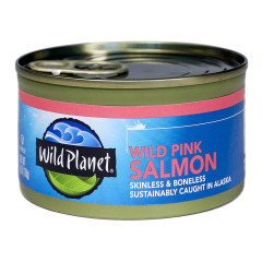 WILD PLANET WILD PINK SALMON 6 OZ CAN