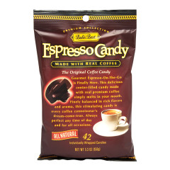 BALI'S BEST ESPRESSO CANDY 5.3 OZ PEG BAG