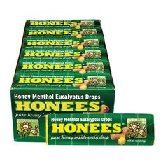 HONEES EUCALYPTUS MINT COUGH DROPS 1.6 OZ