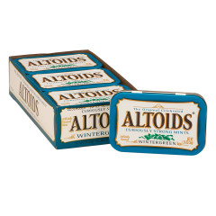 ALTOIDS WINTERGREEN MINTS 1.76 OZ TIN