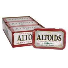 ALTOIDS PEPPERMINT MINTS 1.76 OZ TIN