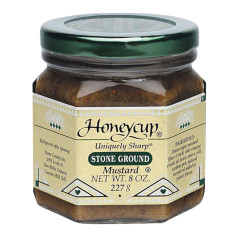 HONEYCUP STONE GROUND MUSTARD 8 OZ JAR