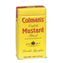 COLMAN'S DRY MUSTARD 4 OZ TIN