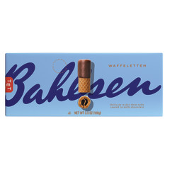 BAHLSEN WAFFELETTEN MILK CHOCOLATE WAFER ROLLS 3.5 OZ
