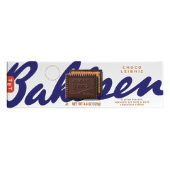 BAHLSEN LEIBNIZ DARK CHOCOLATE BISCUIT 4.4 OZ
