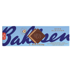 BAHLSEN FIRST CLASS MILK CHOCOLATE HAZELNUT WAFER 4.4 OZ