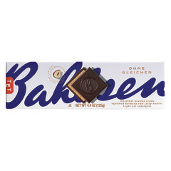 BAHLSEN FIRST CLASS DARK CHOCOLATE HAZELNUT WAFER 4.4 OZ