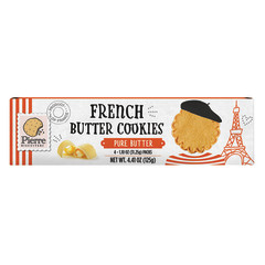 PIERRE FRENCH BUTTER COOKIES 4.41 OZ BOX