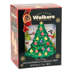 WALKERS SHORTBREAD MINI CHRISTMAS TREE COOKIES 5.3 OZ BOX