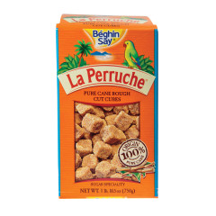 LA PERRUCHE BROWN SUGAR CUBES 26.5 OZ BOX