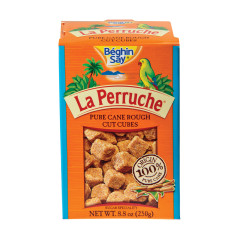 LA PERRUCHE BROWN SUGAR CUBES 8.8 OZ BOX