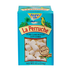 LA PERRUCHE WHITE SUGAR CUBES 8.8 OZ BOX