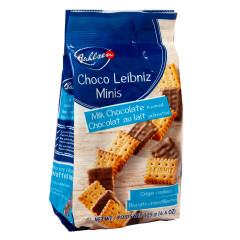 BAHLSEN CHOCO LEIBNIZ MINIS MILK CHOCOLATE 3.5 OZ