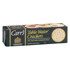 CARR'S TABLE WATER CRACKERS 4.25 OZ BOX
