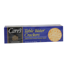 CARR'S SESAME TABLE WATER CRACKERS 4.25 OZ BOX