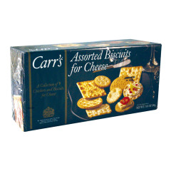 CARR'S ENTERTAINMENT CRACKER COLLECTION 7.05 OZ BOX