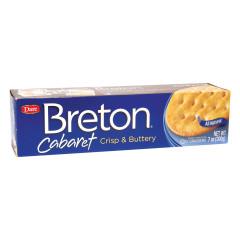 DARE BRETON CABARET CRACKERS 7 OZ BOX