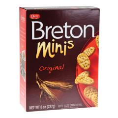 DARE BRETON MINI ORIGINAL CRACKERS 8 OZ BOX