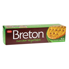 DARE BRETON GARDEN VEGETABLE CRACKERS
