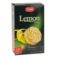 DARE LEMON CREME COOKIES 10.2 OZ BOX