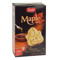 DARE MAPLE CREME COOKIES 10.6 OZ BOX