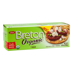 DARE BRETON ORGANIC 7 GRAIN CRACKER 5.29 OZ BOX
