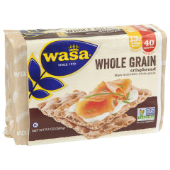 WASA WHOLE GRAIN CRISPBREAD 9.2 OZ