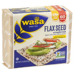 WASA FLAX SEED CRISPBREAD 7.6 OZ