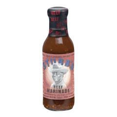 STUBB'S BEEF MARINADE 12 OZ BOTTLE