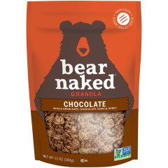 BEAR NAKED CHOCOLATE ELATION GRANOLA 12 OZ POUCH