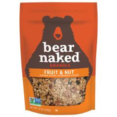 BEAR NAKED FRUIT & NUTTY GRANOLA 12 OZ POUCH