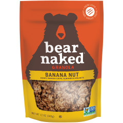 BEAR NAKED GO BANANAS GO NUTS GRANOLA 12 OZ POUCH