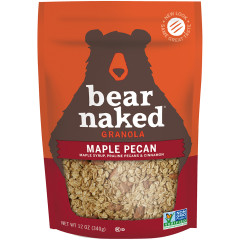 BEAR NAKED MAPLE-ICIOUS PECAN GRANOLA 12 OZ POUCH