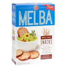 OLD LONDON WHOLE GRAIN MELBA TOASTS 5.25 OZ BOX