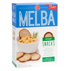 OLD LONDON SESAME MELBA TOASTS 5.25 OZ BOX