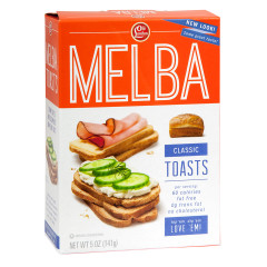 OLD LONDON CLASSIC MELBA TOASTS 5 OZ BOX