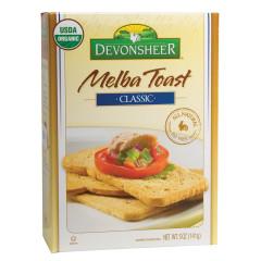 DEVONSHEER CLASSIC MELBA TOAST 5 OZ BOX