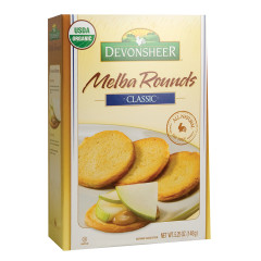 DEVONSHEER CLASSIC MELBA ROUNDS 5.25 OZ BOX