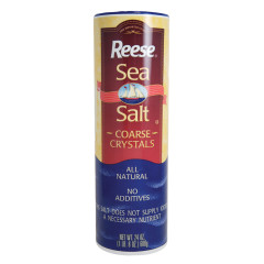 REESE COARSE CRYSTALS SEA SALT 24 OZ