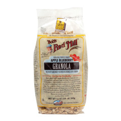 BOB'S RED MILL APPLE BLUEBERRY GRANOLA 12 OZ BAG