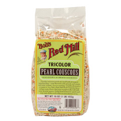 BOB'S RED MILL TRICOLOR PEARL COUSCOUS 16 OZ BAG