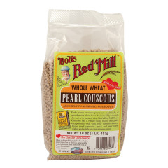 BOB'S RED MILL WHOLE WHEAT PEARL COUSCOUS 16 OZ BAG